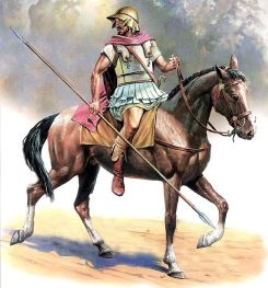 Macedonian cavalry