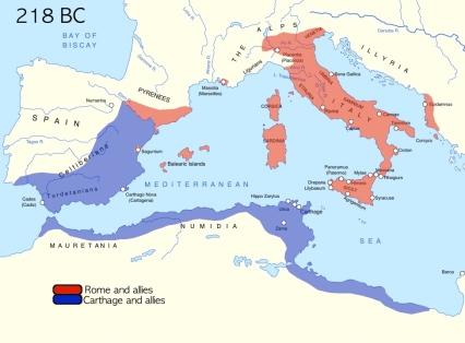 Rome:Carthage map2