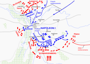Battle of Leipzig 1