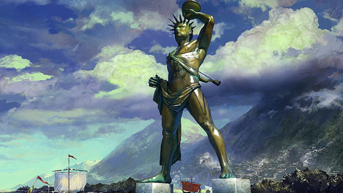 seven wonders of the ancient world colossus of rhodes real history