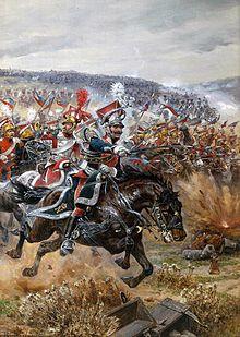 Leipzig cavalry charge