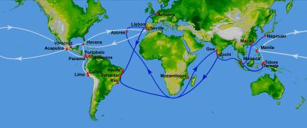 sea trade routes